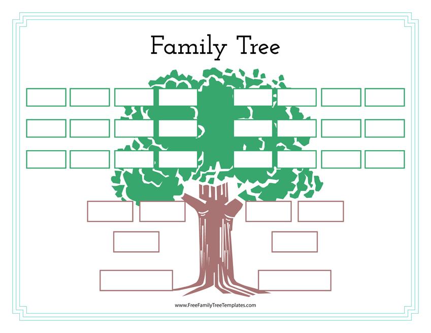 family history tree template free family tree templates