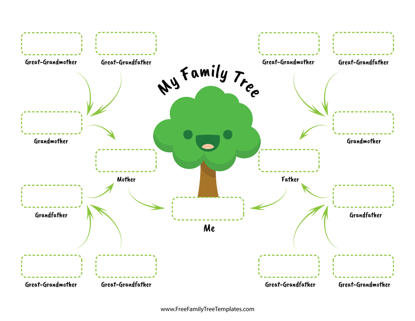 family tree for children free family tree templates