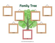 4 generation family tree many siblings template free family tree